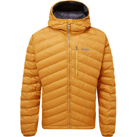 Sherpa Annapurna Hooded Jacket Men masala orange